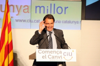 Artur Mas at the campaign's preentation meeting (by ACN)