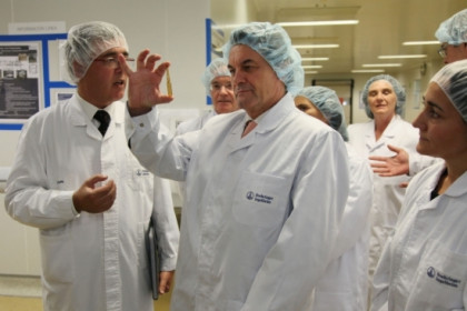 Artur Mas has inaugurated the expansion of the facilities of the Boehringer Ingelheim pharmaceutical company (by ACN)