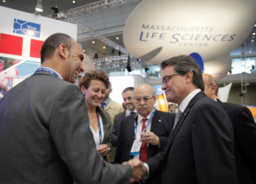 Catalan President, Artur Mas, at Bio Boston 2012 (by J. Bedmar)