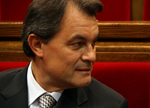Artur Mas will become on Monday the 27th of December the 129th President of the Catalan Government (by P. Franch)