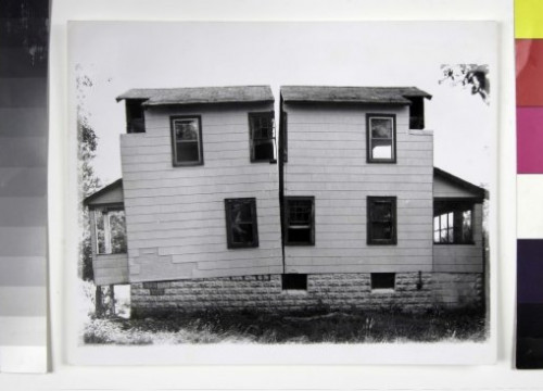 'Splitting 9' by Gordon Matta-Clark (by MACBA Collection)
