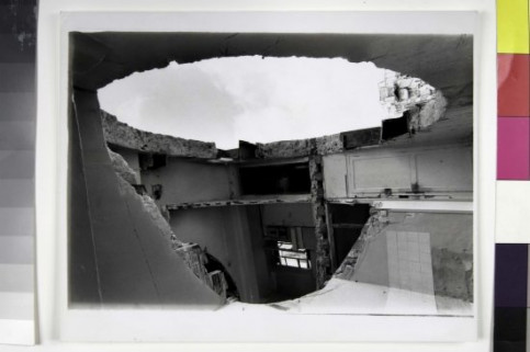 'Conical Intersect 2' by Gordon Matta-Clark (by MACBA Collection)