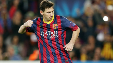 Fc Barcelona Vs Ac Milan Messi Sees Barca Through To Last 16 3 1