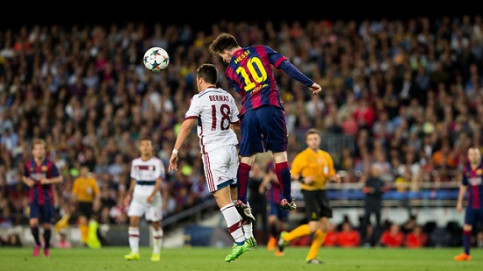 Leo Messi was the greatest star of the last game between FC Barcelona and Bayern Munich (by FC Barcelona)