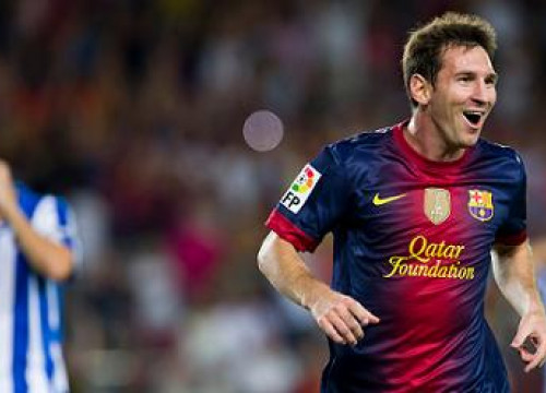 Leo Messi scored a hat trick against Deportivo de La Coruña last Sunday (by FC Barcelona)