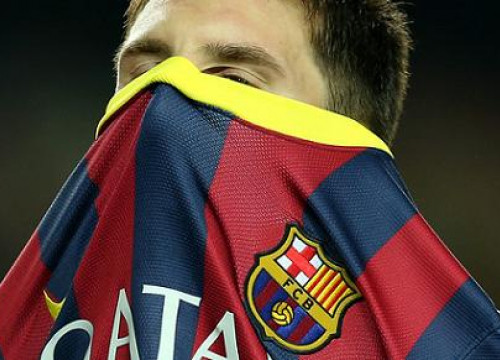 Leo Messi might return in front of Getafe (by FC Barcelona)