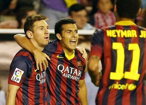 Messi, Pedro and Neymar (by FC Barcelona)