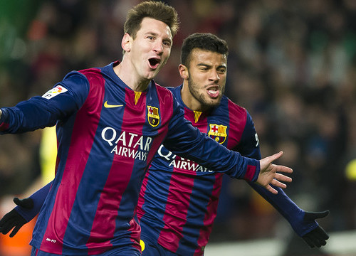 Leo Messi scored Barça's third goal, which was putting the Catalans on top (by FC Barcelona)