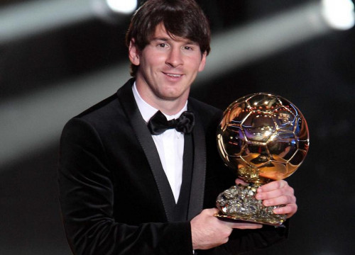 Lionel Messi wins the FIFA Ballon D'Oro (by FC Barcelona)