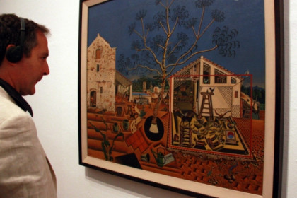 'La masia' (The Farm) is one of Miró's highlights and shows a typical Catalan rural house (by P. Francesch)
