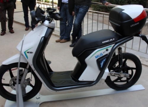The Mius 4.0 electric bike (by ACN)