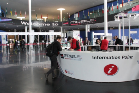 Early registration at the Mobile World Congress' last edition (by J. Pueyo)