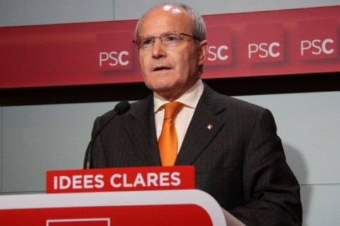 José Montilla, the PSC leader and the current Catalan President (by ACN)