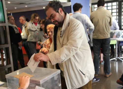 Catalans are holding municipal elections this Sunday (by R. Garrido)