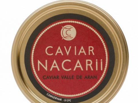 A box of the Catalan caviar Nacarii, made in the mountains (by ACN / Caviar Nacarii)