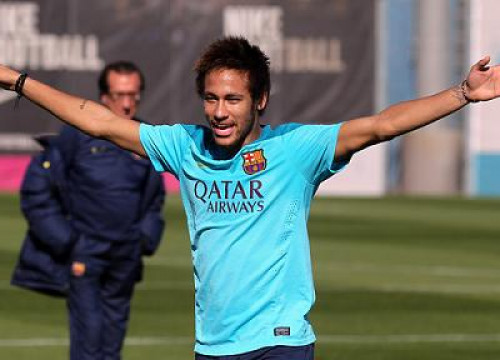 Neymar has been declared fit this Friday and could play against Rayo Vallecano (by FC Barcelona)