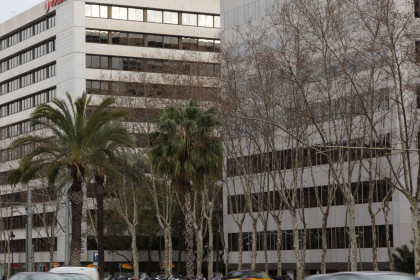 Office buildings on Barcelona's Diagonal Avenue (by ACN)