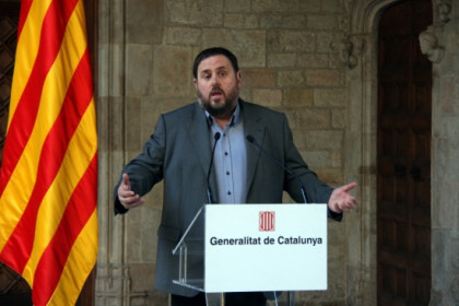 Oriol Junqueras, President of the ERC (by A. Moldes)