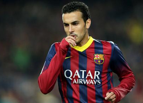 Pedro scored again against Cartagena (by FC Barcelona)
