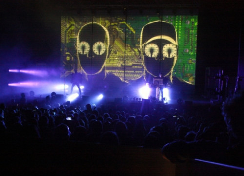 Pet Shop Boys' concert in Costa Brava's Cap Roig Festival (by ACN)