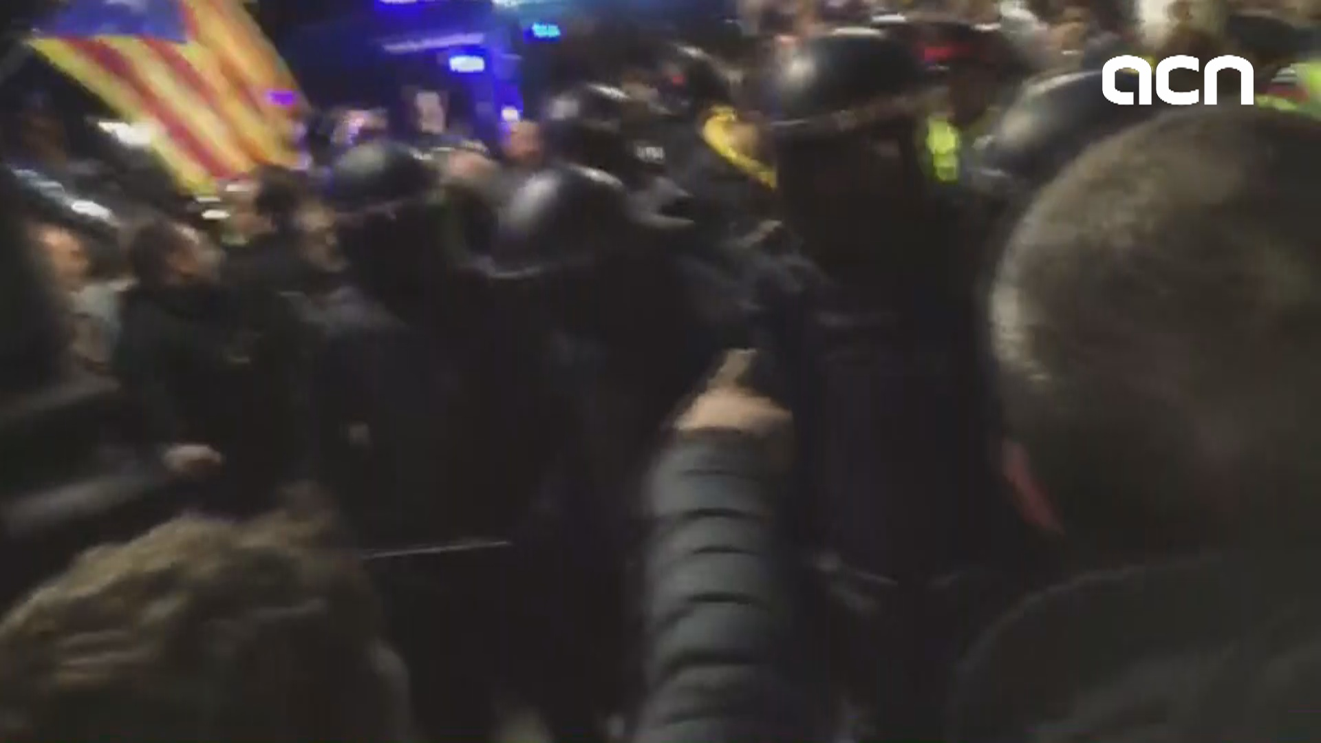 Protests after Puigdemont's detention