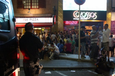 Due to the recent issues, police presence has been significantly increased in Lloret de Mar (by M. Bélmez)