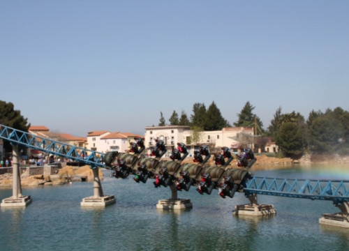 One of PortAventura's roller coasters (by A. Mayor)