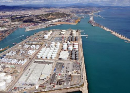 The Energy Dock at Barcelona's Port (by Port de Barcelona)