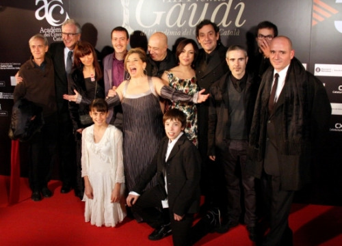 The team of 'Pa Negre' in the Gaudi Awards (by ACN)