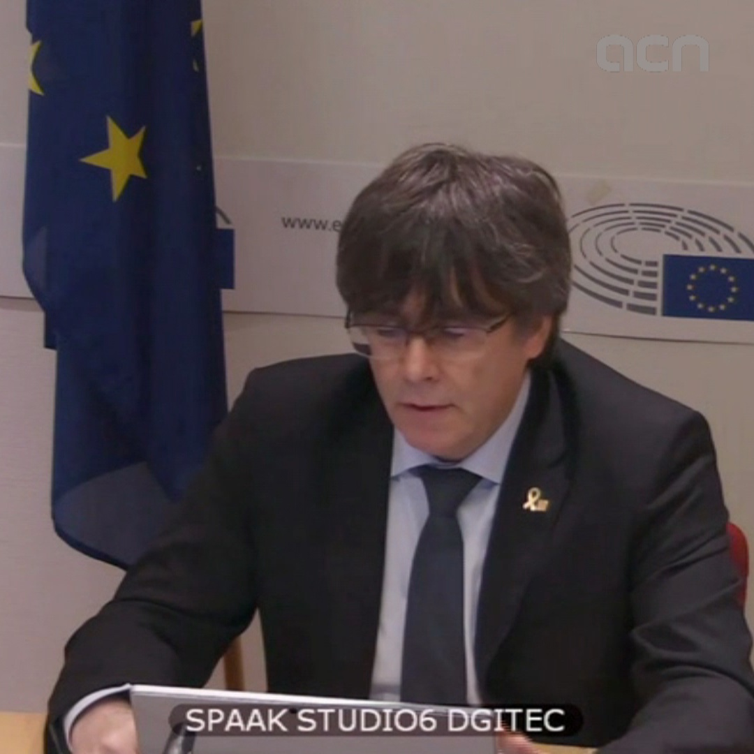"Puigdemont: ""Direct rule was a coup d'état"""