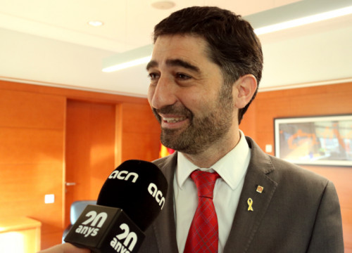 Puigneró said the move was a violation of ''fundamental rights'' (by Guifré Jordan)