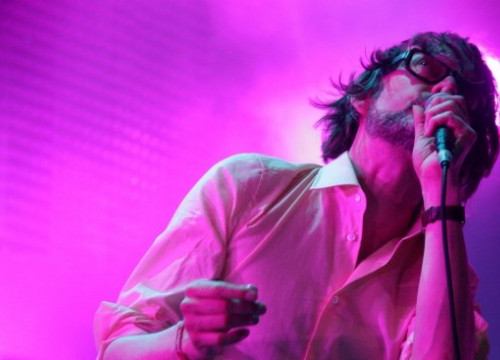 Jarvis Cocker, Pulp's leading singer, at this year's Primavera Sound (by P. Cortina)