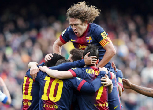 Barça scored six goals against Getafe (by FC Barcelona)