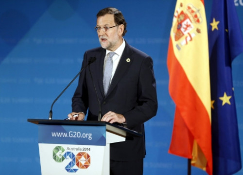 The Spanish PM, Mariano Rajoy, in Brisbane, Australia (by La Moncloa)