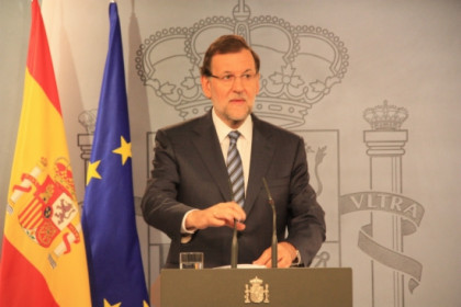 The Spanish PM, Mariano Rajoy, a few weeks ago in Madrid (by ACN)