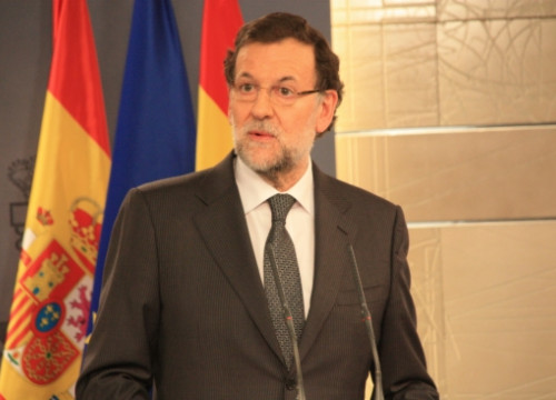 Mariano Rajoy, last week in La Moncloa (by R. Pi)