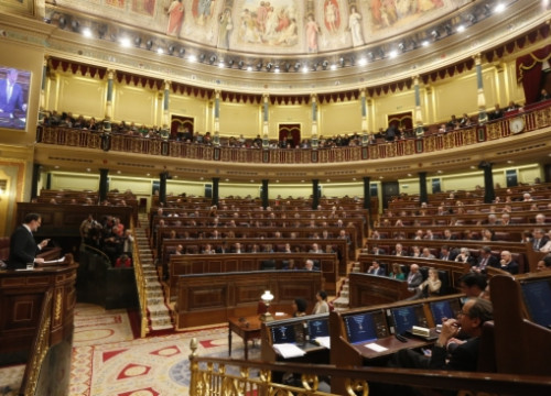 The Spanish Parliament approved on Wednesday King Juan Carlos' abdication (by ACN)
