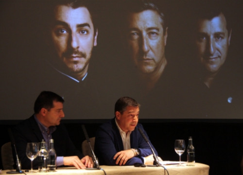 The Roca brothers offered a press conference on Monday morning in London, a few hours before the 'Restaurant' magazine's gala (by T. Tàpia)