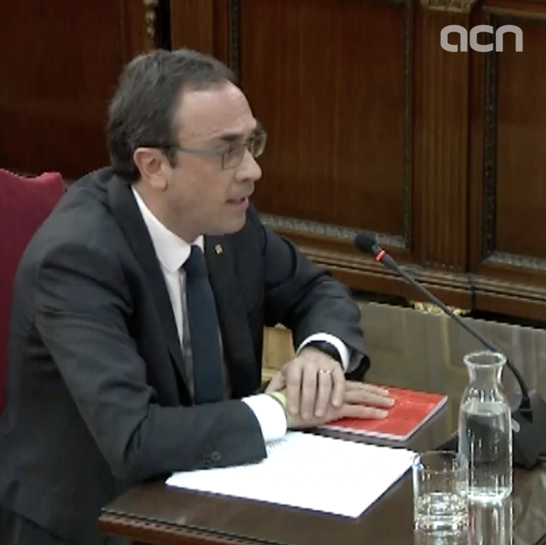 'Catalan language is seen as a threat' says former territory minister Josep Rull