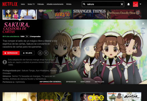 'Cardcaptor Sakura' is the first series dubbed in Catalan available on Netflix