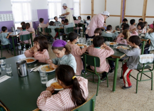 A school canteen in Central Catalonia (by E. Escolà)