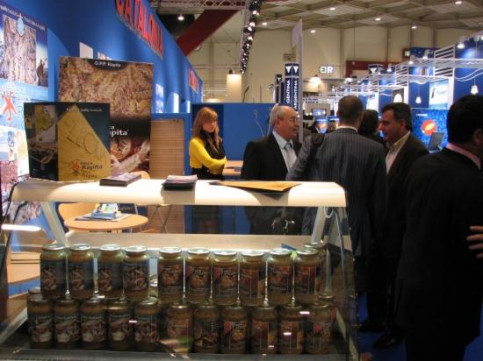Catalan stands at Brussels' Seafood Fair (by ACN)