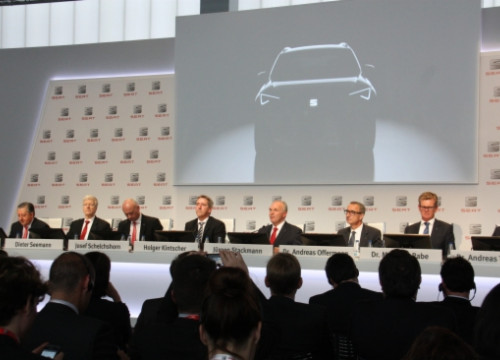 SEAT's new SUV model was presented in March (by E. Romagosa)