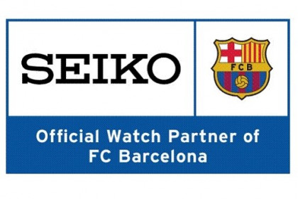 The Japanese watch company Seiko and the FC Barcelona signed a sponsorship agreement (by FC Barcelona)