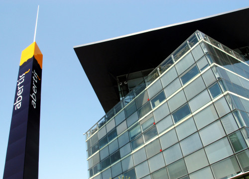 Abertis' headquarters, located in Barcelona (by ACN)