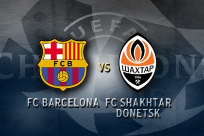 Barça to play against Shakhtar Donetsk the Champions League quarter final (by FC Barcelona)