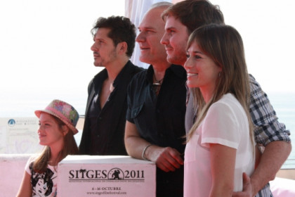 The presentation of 'Eva' at Sitges 2011 (by P. Francesch)