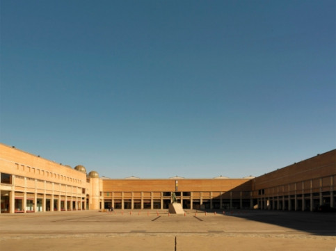The space for the Sónar Village at Fira de Barcelona's Montjuic venue (by Sónar)