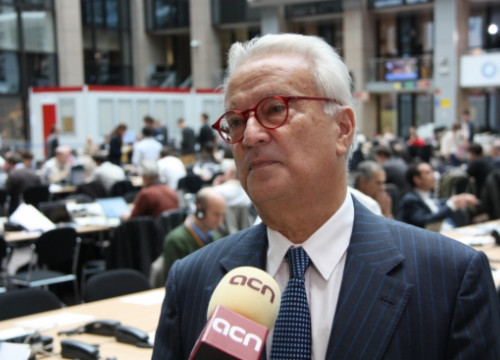 Hannes Swoboda, interviewed by the CNA (by A. Segura)