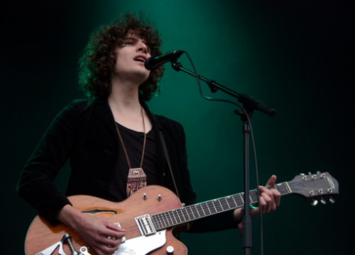 Temples played in the 2014 Primavera Sound's kick off session (by P. Cortina)